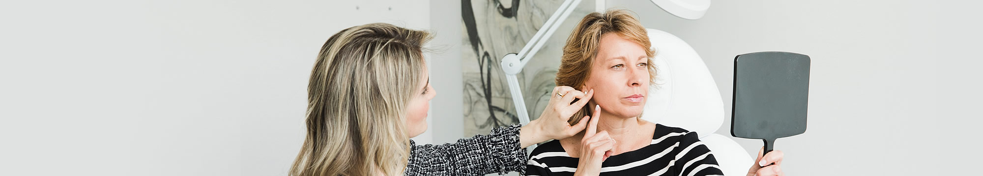 Dr. Maria with a patient