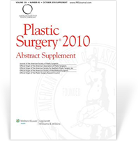 Publications 'Plastic Syrgery 2010, Abstract Supplement'