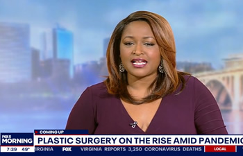 Dr. Munique Maia Plastic Surgeon Washington DC Tysons Chevy Chase on Fox5 News
