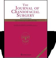 Publication 'The Jurnal of Craniofacial Surgery'