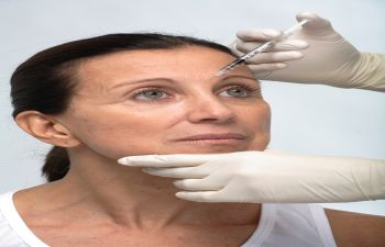 Injections Into Forehead Area